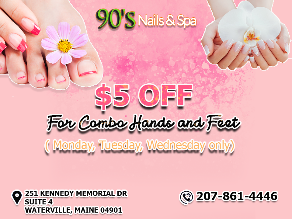 90\'s Nails & Spa - Nail salon in Waterville, Maine 04901